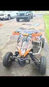 Racing quad for sale (a vendre)