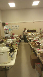 HUGE 34th Agassiz United Church Garage Sale!