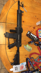 Paintball gun**