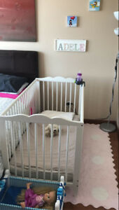 Baby Crib+Mattress