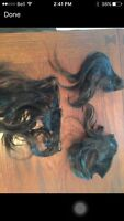 """Real hair extensions with clips 12"""""""