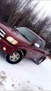 2003 Toyota Tundra Red Other