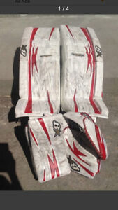Brians G-Netik 5.0 pads and gloves