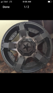20 inch XD SERIES Rockstar rims. Used only one summer