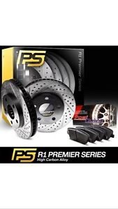 Coated Disks Rotors and pads for BMW X5 X6 2007-2010 value 500$