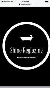 Shine reglazing- tubs tiles and more