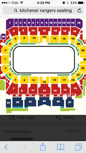 Kitchener Rangers Tickets Feb 28th