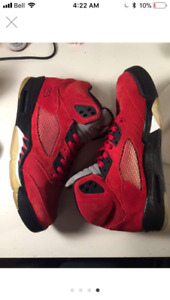 Raging Bulls (Red Suede) Air Jordan 5