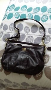 Coach Leather Cross body/ Shoulder Bag