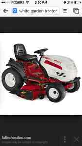 Lawnmower lawn tractor repairs
