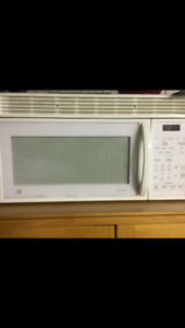 General Electric over the range microwave & stainless panisonic