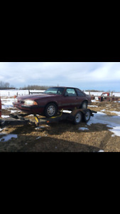 1988 Ford Mustang LX Coupe (2 door)