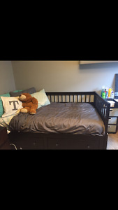 IKEA day bed/trundle bed