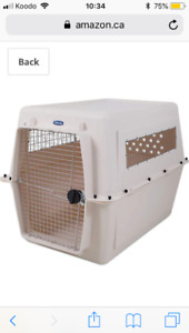 Dog crate - cage chien