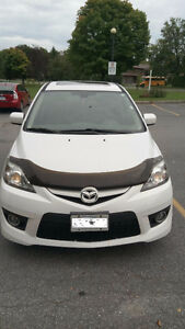 2009 Mazda5 GT with NAV, Sunroof, 6CD player and Leather seat