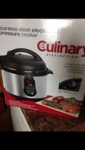 NEW -  Culinary Electric Pressure Cooker