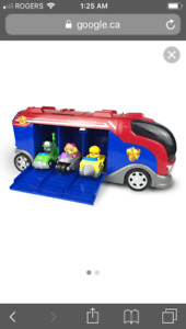 Paw Patrol Mission Cruiser with 6 in vehicle characters