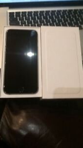 BLACK IPHONE 6 with BOX IN PERFECT CONDITION