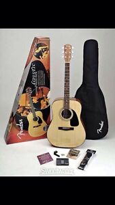 Fender Acoustic Guitar Pack