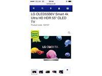 "55"" LG Smart TV 4k £1,850"