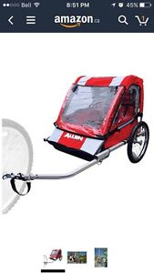 Allen 2 Child Bicycle Trailer - Brand New Installed Strathcona County Edmonton Area image 2
