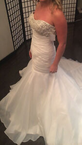 Worn once, cleaned wedding dress