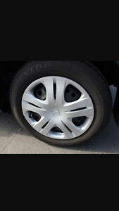 """PRICE REDUCED 14"""" Winter Tires 175/65r14.  82t St. John's Newfoundland image 1"""