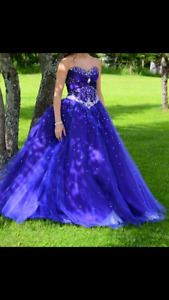 Mori Lee Purple Prom Dress!