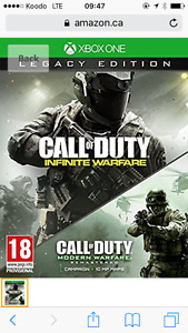 Call of duty Infinite warfare legacy édition
