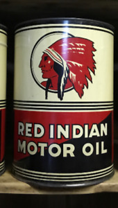 Wanted: Red Indian oil cans