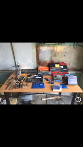 Tools and measuring devices ( for machinist )
