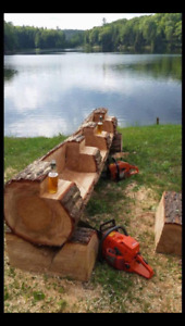Quality log furniture!
