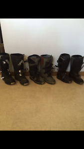 Moto cross boots.  Youth