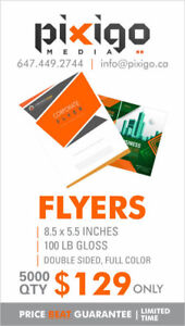 Flyers Special: 5000 Quantity for $129