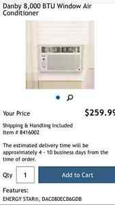 AIR CONDITIONER  Danby 8 000