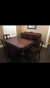 Antique cherrywood dining table