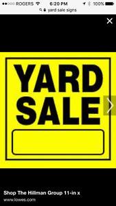 Toy yard sale