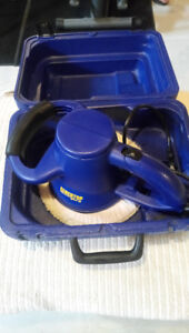 """Benchtop Pro 10"""" Buffer Polisher With Case (Like-New Condition)"""