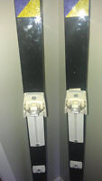 Nice set of cross country skis with poles for sale