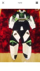 Thor/pro circuit motocross suit