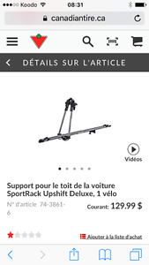 Support vélo