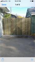 Treated fences, set posts and gates!!!