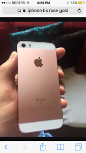 10/10 Rose gold Iphone 5s