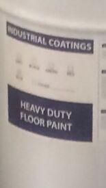 Paint 205 L drum polyurethane resin heavy duty floor paint