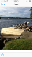 Cottage Crib Dock Repairs Needed - Water access only