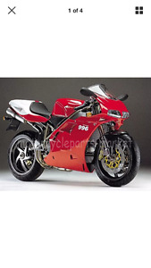 Wanted Ducati 996 nose fairing