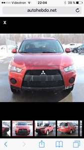 2010 Mitsubishi Outlander Edition Sun and Sound package