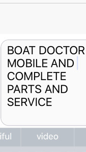 Marine Mechanic and Mobile Service