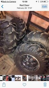Mud Lites and Mud Wolf quad tires for sale!  Want gone today!
