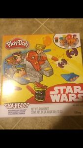 Star Wars Playdoe Can-Heads Set. Double Gift,Brand New,Unopened.